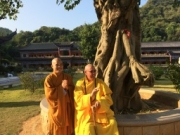 Thay Vinh Minh and Thay Kozen in China