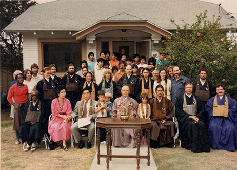 Matsuoka Roshi, Rev. Ken McGuire, Rev. Ray Vaughn, Zenko Ryugen Watanabe Osho